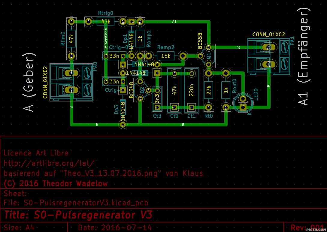 Knolles ELEKTRONIK Forum: Re: Schaltung V3 ´S0-Puls-Regenerator und ...