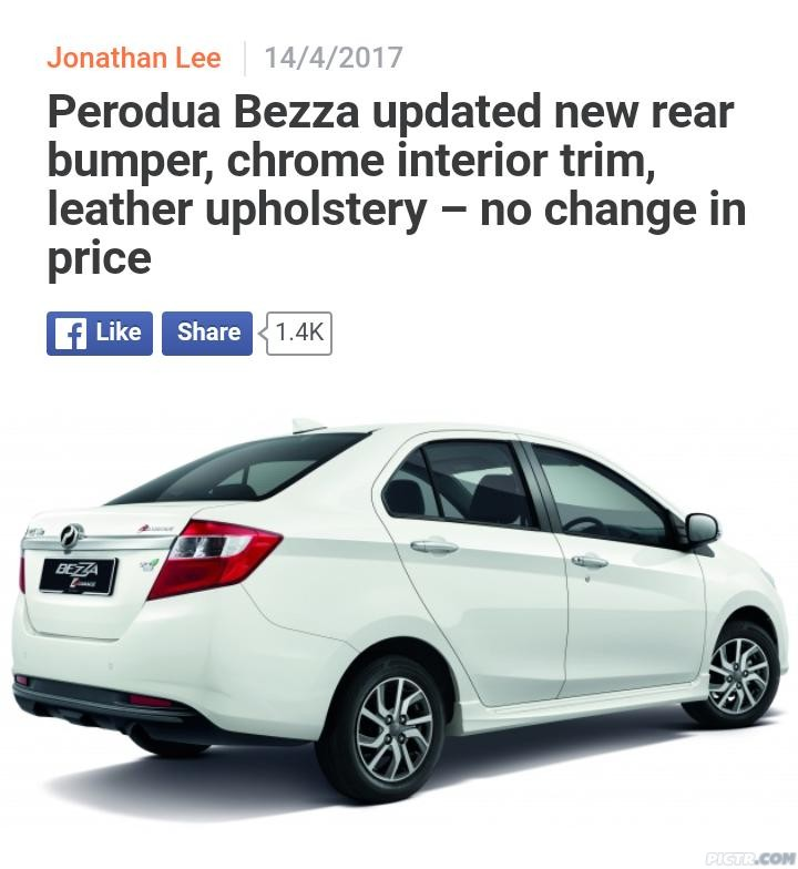 LYN Official Perodua Bezza Club V3