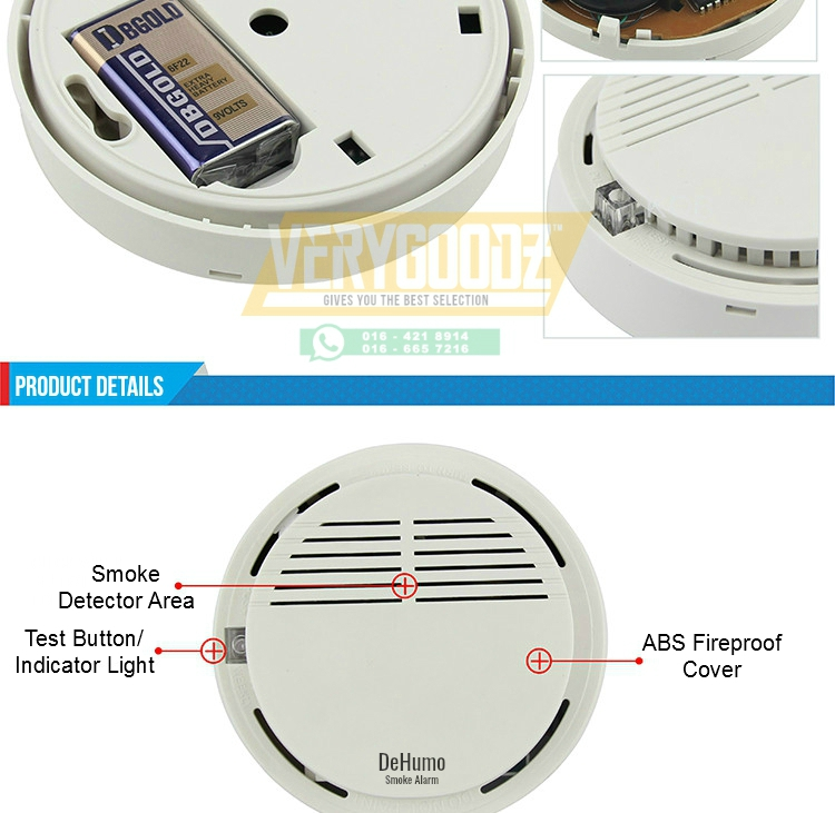 how to turn off smoke alarm without battery