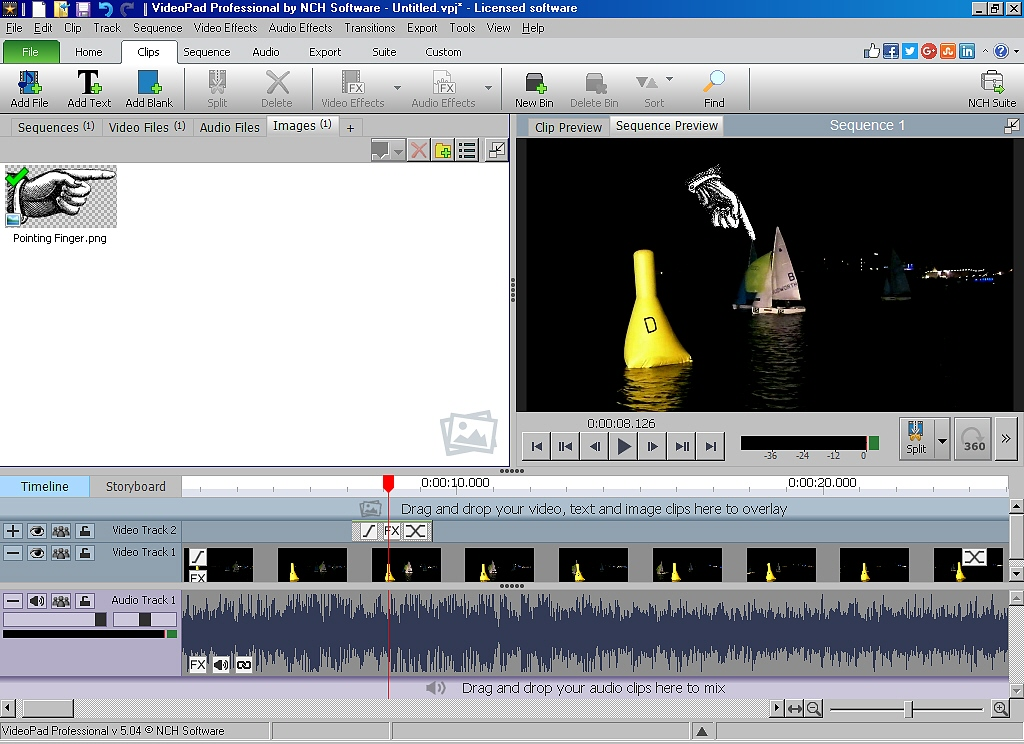 Easy way to add pointers to videos videopad nch software user a50w2g ccuart Gallery