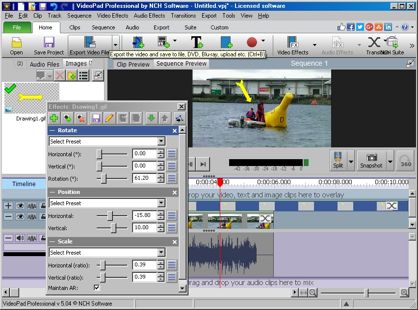 Easy way to add pointers to videos videopad nch software user a583yg ccuart Gallery