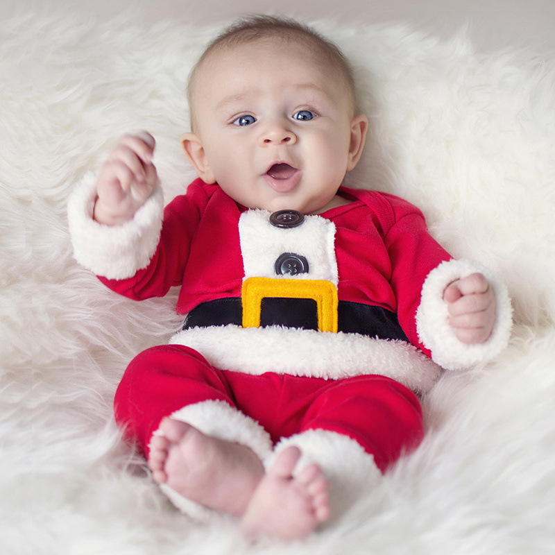 Children Christmas Clothing Set Baby Boys And Girls Christmas Suit
