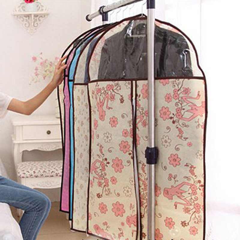 Cover Protector Storage Garment Clothes Bag & Cover Protector Storage Garment Clothes Bag Suit Dress Coat ...
