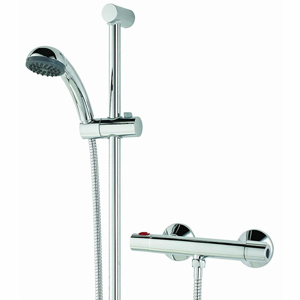 Fast Fit Bristan Zing Cool Touch Exposed Bar Thermostatic Shower ...