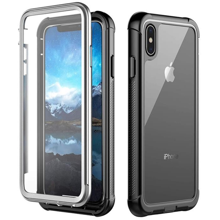 coque transparente iphone xs max rigide