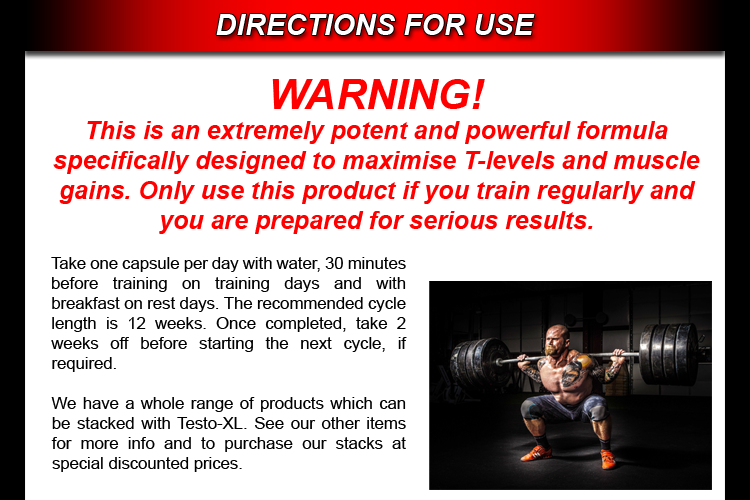 TESTO-XL ** STRONGEST LEGAL TESTOSTERONE BOOSTER WITHOUT STEROIDS GYM MUSCLE eBay
