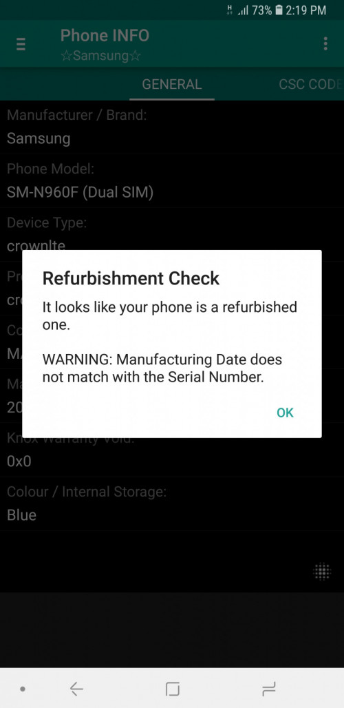Samsung Galaxy Note 9 V4