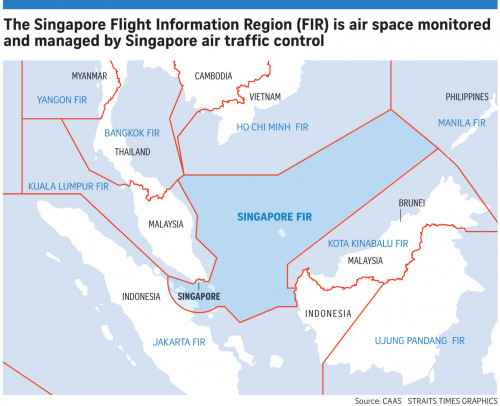 singapore flight information region