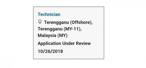 Exxonmobil Malaysia Engineer Interview