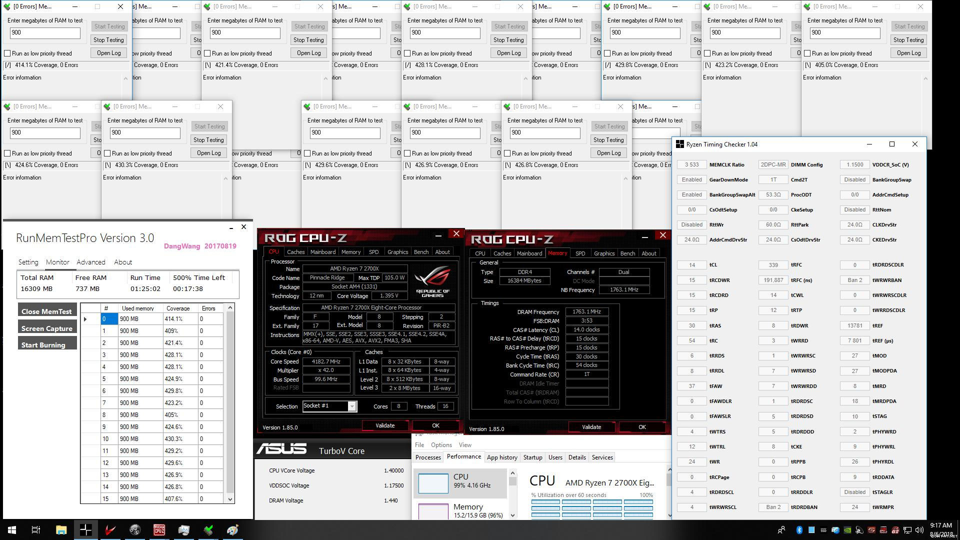 Official] AMD Ryzen DDR4 24/7 Memory Stability Thread - Page 223