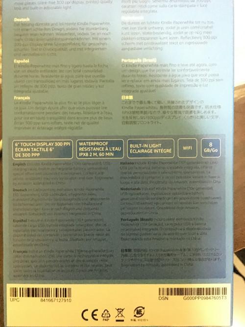 WTS] Kindle Paperwhite E-Reader 2018