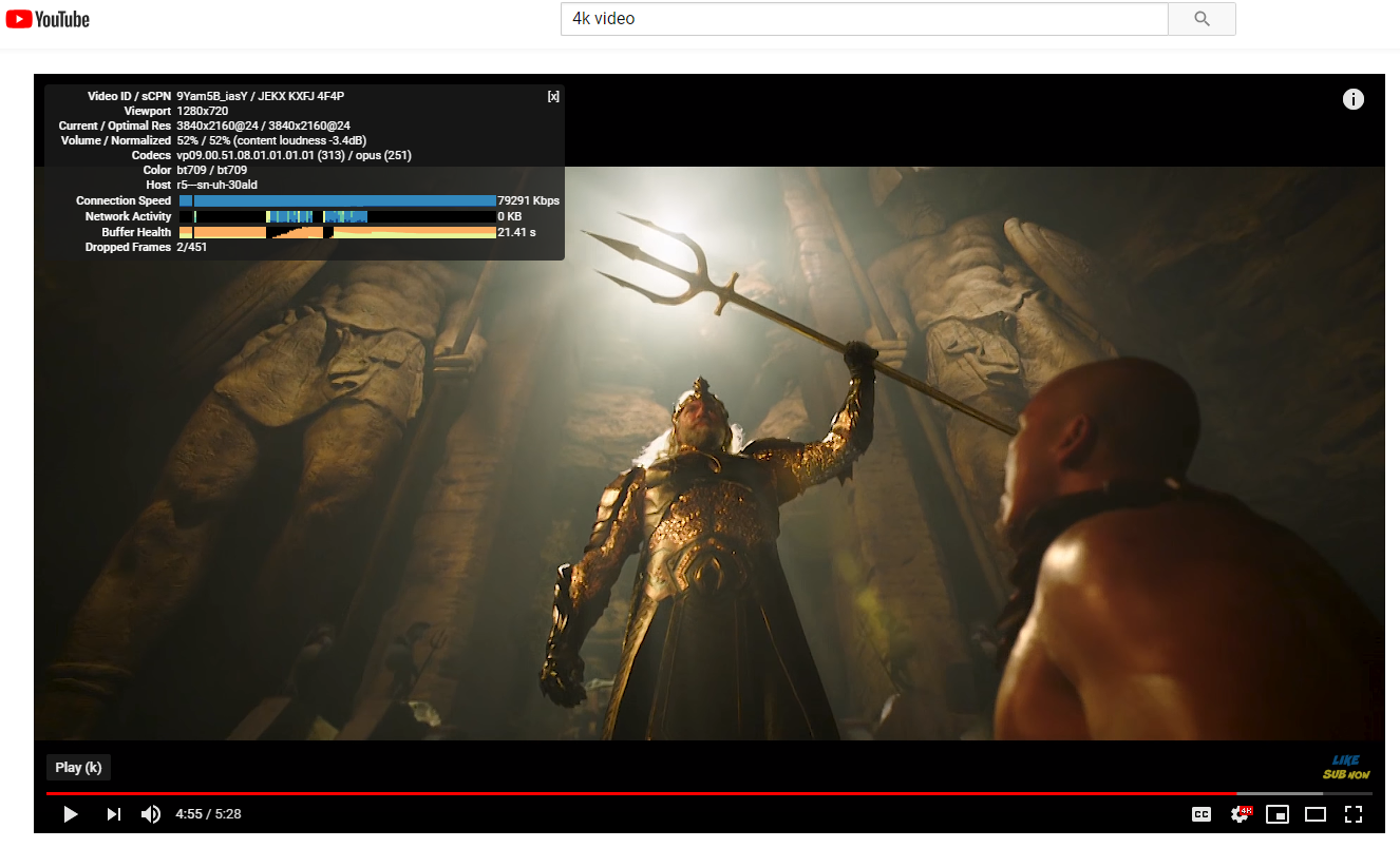 Tutorial:Enabling smooth YT 4K playback in Chrome