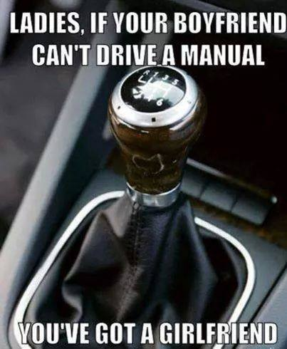 Do u miss driving manual car?