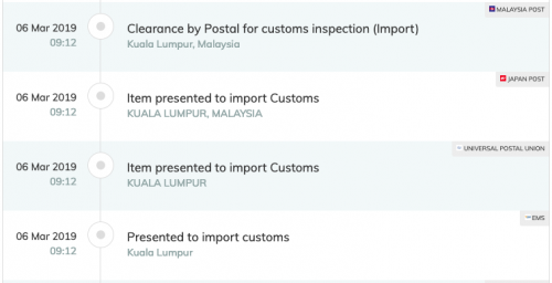 Parcel detained by customs? Sry PO no fishy!