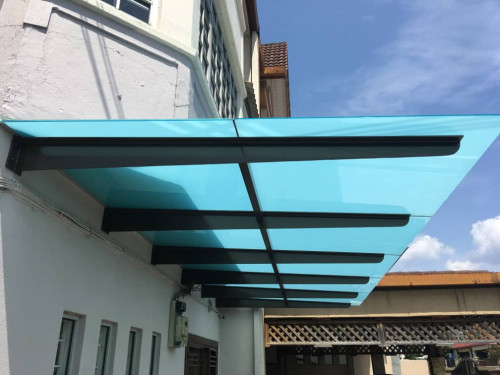 Glass Roof , Polycarbonate Roof , Alucobond Roof