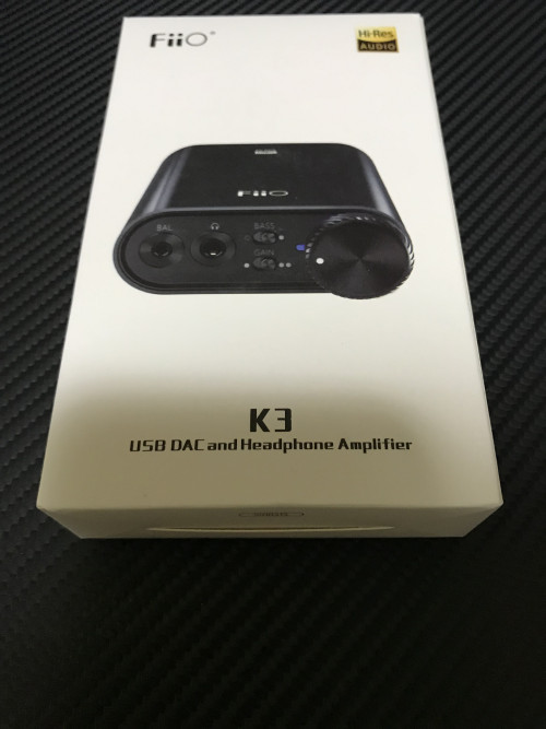 WTS>FiiO K3 DSD USB-C DAC and Headphone Amplifier