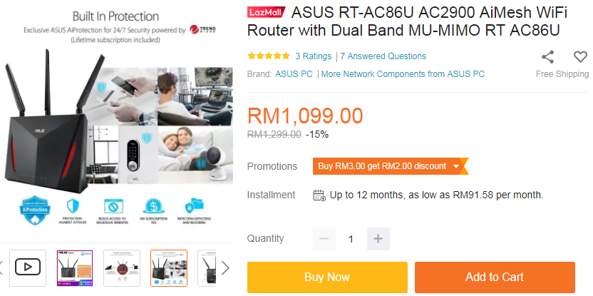 How to buy cheap ASUS RT-AC68U router