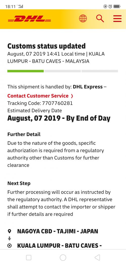 Custom Clearance Questions