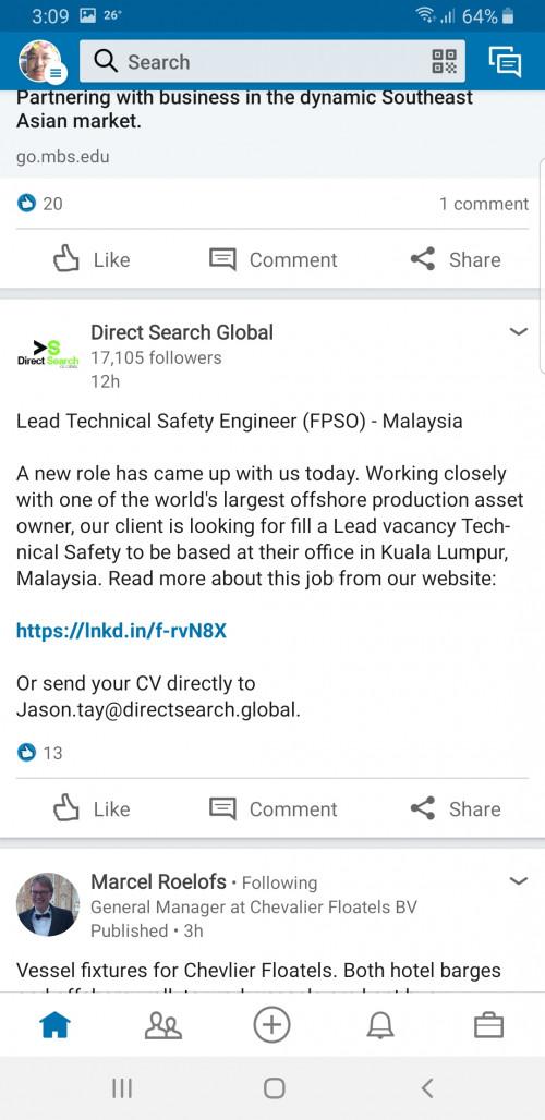O&G Job Classified