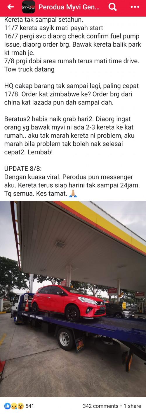 Myvi 2018 problems