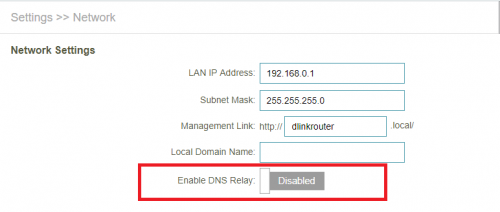 Changing DNS for Unifi