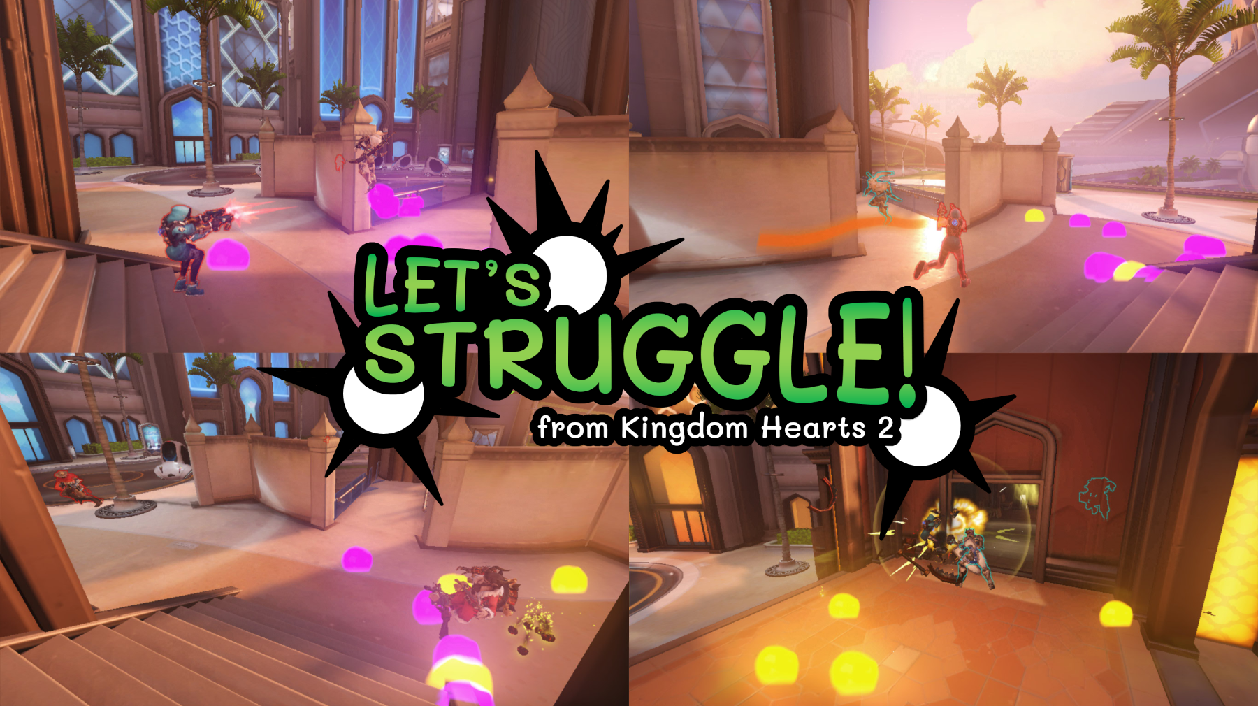 Thumbnail for Let's Struggle! - from Kingdom Hearts 2