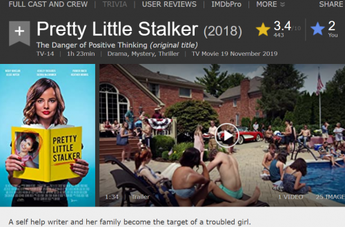 2020 10 11 14 20 36 Pretty Little Stalker (TV Movie 2018) IMDb and 4 more pages Work Microsoft