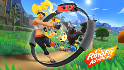 ring fit adventure switch hero